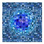 Optical Illusion Sphere Square Car Magnet 3
