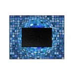 Optical Illusion Sphere - Blue Picture Frame