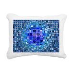 Optical Illusion Sphere Rectangular Canvas Pillow