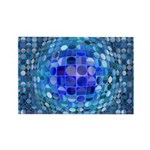Optical Illusion Spher Rectangle Magnet (100 pack)