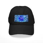 Optical Illusion Sphere - Blue Black Cap