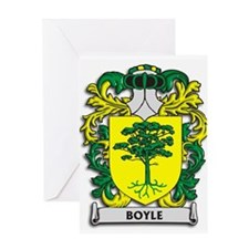 Boyle Coat of Arms Greeting Cards