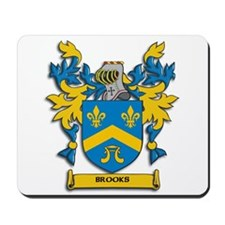 Brooks Coat of Arms Mousepad