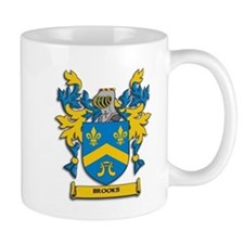 Brooks Coat of Arms Mugs