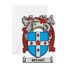Bryant Coat of Arms Greeting Cards