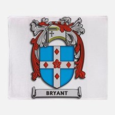 Bryant Coat of Arms Throw Blanket
