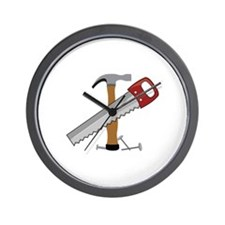 Tool Time Wall Clock