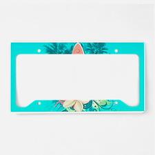 Surfboard License Plate Holder