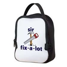 Sir Fix-A-Lot Neoprene Lunch Bag