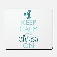 Keep Calm and Cheer On Mousepad