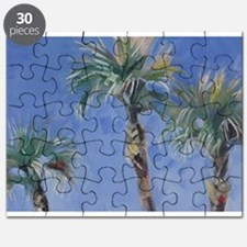 Palm Trees Tropical Sky Puzzle