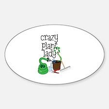 Crazy Plant Lady Bumper Stickers