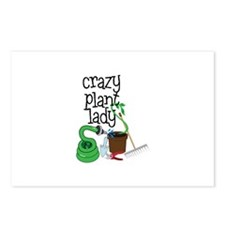 Crazy Plant Lady Postcards (Package of 8)