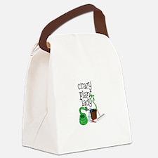 Crazy Plant Lady Canvas Lunch Bag