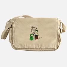 Crazy Plant Lady Messenger Bag