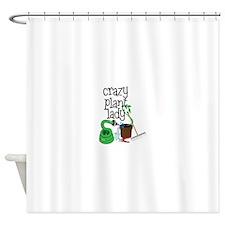 Crazy Plant Lady Shower Curtain