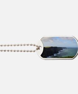 Sea Cliffs in Ireland Dog Tags