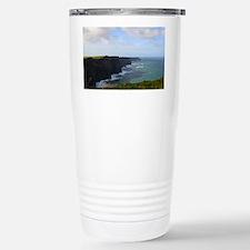 Sea Cliffs in Ireland Stainless Steel Travel Mug