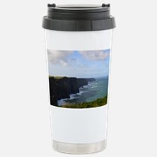 Sea Cliffs in Ireland Travel Mug