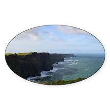 Sea Cliffs in Ireland Decal