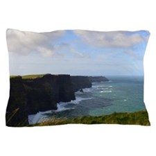 Sea Cliffs in Ireland Pillow Case