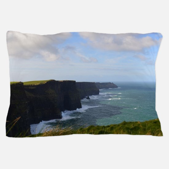 Sea Cliffs in Ireland Pillow Case