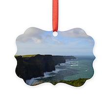 Sea Cliffs in Ireland Ornament