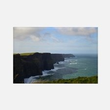Sea Cliffs in Ireland Rectangle Magnet