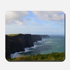Sea Cliffs in Ireland Mousepad