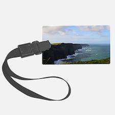 Sea Cliffs in Ireland Luggage Tag
