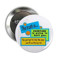 "The Truth-Bob Marley 2.25"" Button"