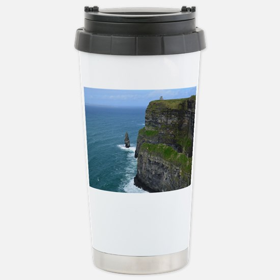 Needle Cliffs of Moher Stainless Steel Travel Mug