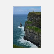 Gorgeous Sea Cliffs Rectangle Magnet