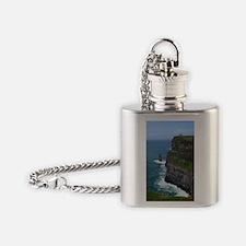 Gorgeous Sea Cliffs Flask Necklace