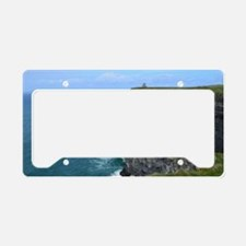 Beautiful Cliffs of Moher License Plate Holder