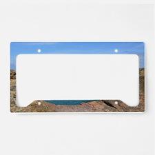 Irish Sea Cliffs License Plate Holder