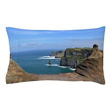 Irish Sea Cliffs Pillow Case