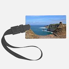 Irish Sea Cliffs Luggage Tag