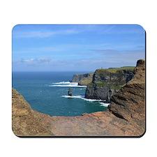 Irish Sea Cliffs Mousepad