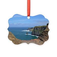 Irish Sea Cliffs Ornament