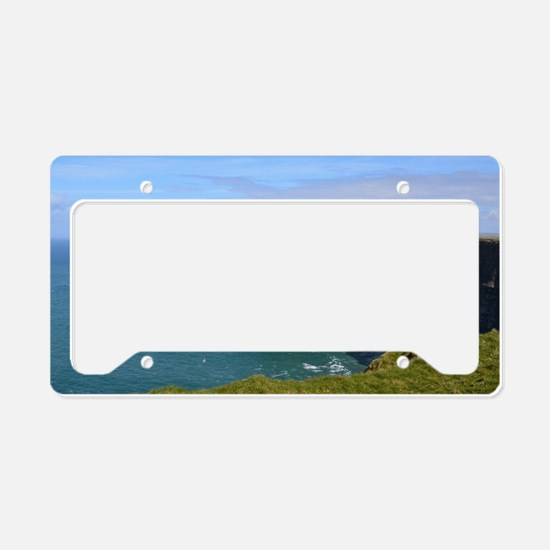 Cliffs of Moher License Plate Holder