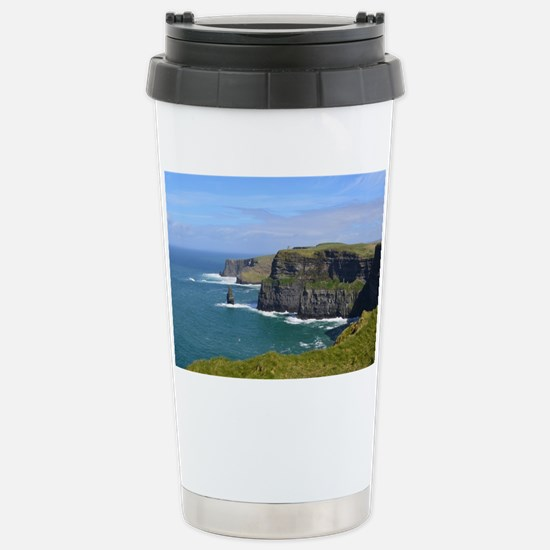 Cliffs of Moher Stainless Steel Travel Mug