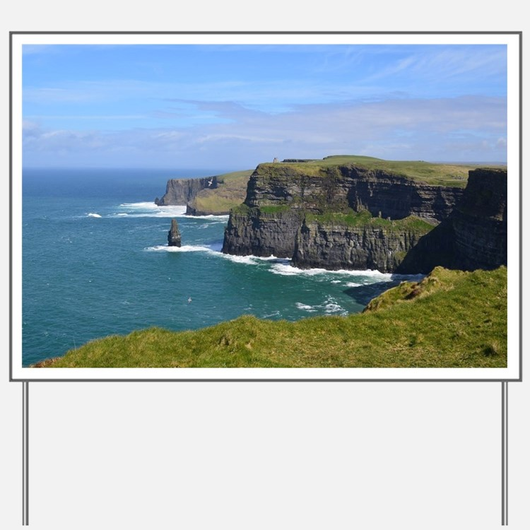 Cliffs of Moher Yard Sign