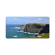 Cliffs of Moher Aluminum License Plate