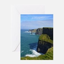Gorgeous Cliffs of Moher Views Greeting Card
