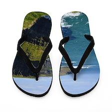 Gorgeous Cliffs of Moher Views Flip Flops