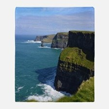Gorgeous Cliffs of Moher Views Throw Blanket