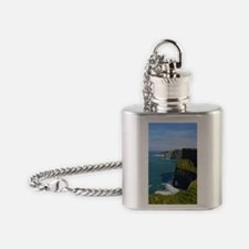 Gorgeous Cliffs of Moher Views Flask Necklace