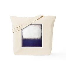 NAVYWHITE_ROTHKO Tote Bag