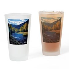 Mountain  Stream Drinking Glass